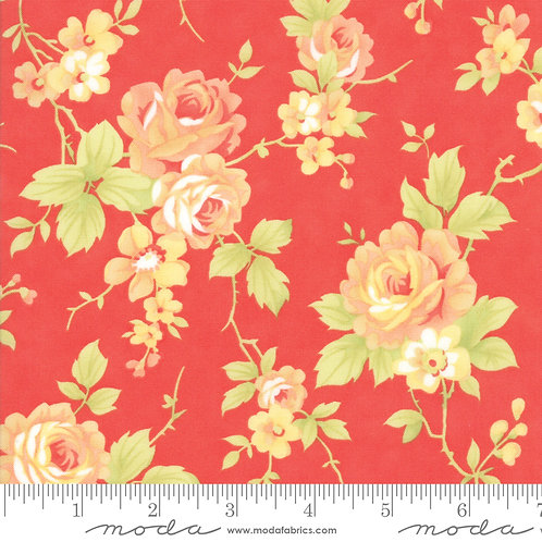 CATALINA 20370 11 Red Moda FIG TREE Floral