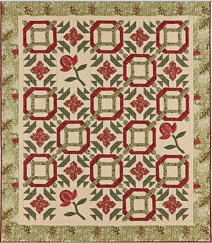 A Graceful Stitch WINTER BLOOMS Pattern