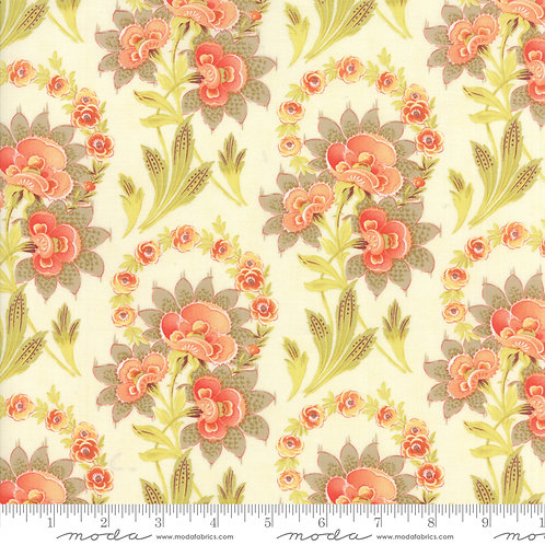 Hazel & Plum 20290 17 Ivory Floral Moda Fig Tree