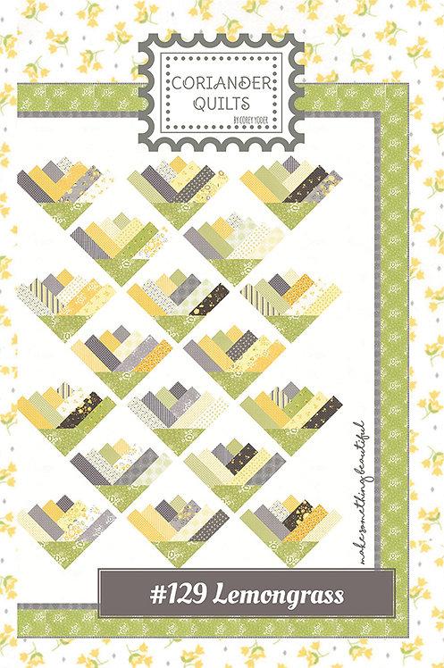 Coriander LEMONGRASS Jelly Roll Pattern