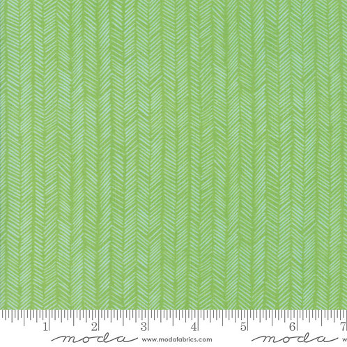 Hazelwood 36017 12 Leaf Green Tonal Moda One Canoe Two