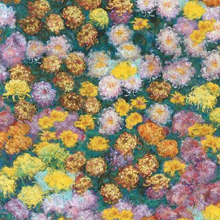 Claude Monet 17077 238 Garden Kaufman