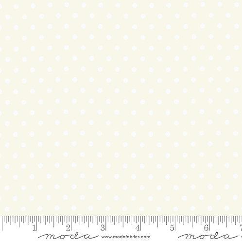 Bubble Pop 21766 11 White Cream Polka Dots Moda AMERICAN JANE