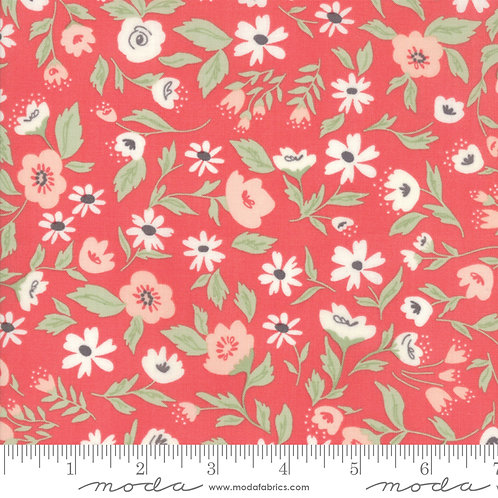 Garden Variety 5070 16 Coral Floral Moda Lella Boutique