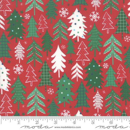 Jolly Season 35343 14 Red Trees Moda Abi Hall