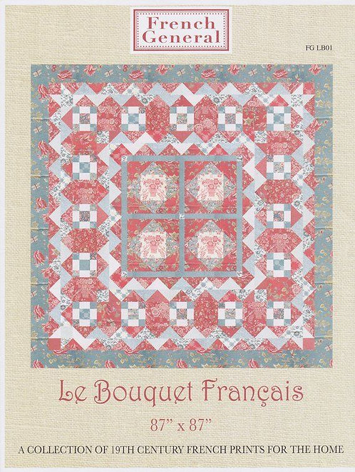 French General LE BOUQUET FRANCAIS Pattern