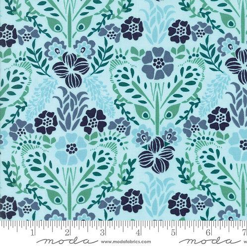 Grand Canal 27253 11 Blue Multi Floral Moda Kate Spain