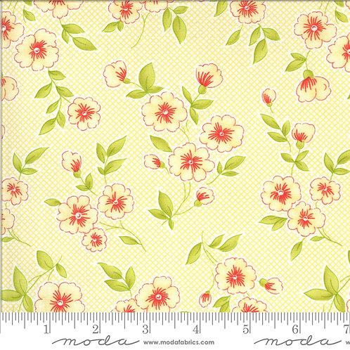 Figs & Shirtings 20390 16 Yellow Floral Moda Fig Tree