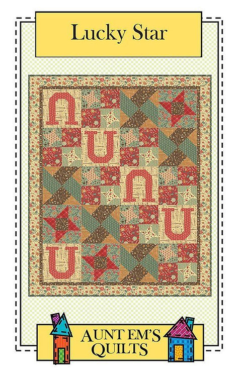 Aunt Em's LUCKY STAR Pattern