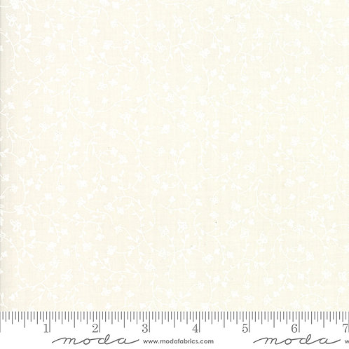 Branded 5787 14 White on Cream Floral Moda Sweetwater