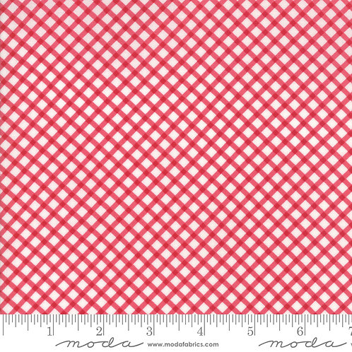Good Tidings 18665 11 Red Check Moda Brenda Riddle