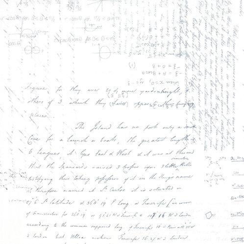 Modern Background Paper 1581 11 White Gray Script Text Moda Zen Chic