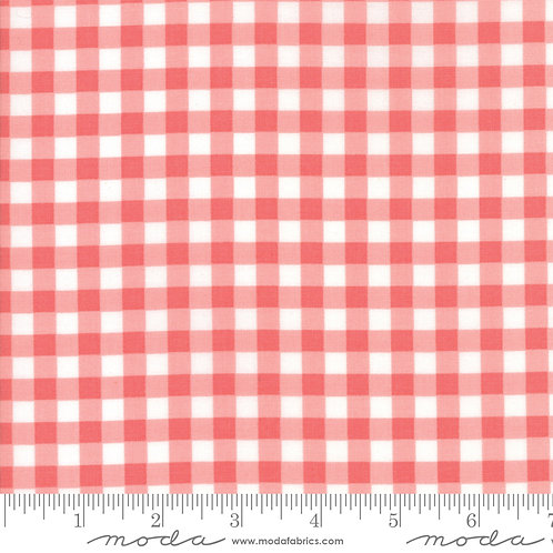 Vintage Holiday 55164 14 Pink Check Moda Bonnie & Camille