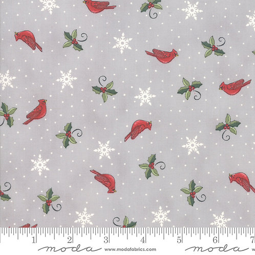Homegrown Holidays 19945 12 Gray Moda Deb Strain