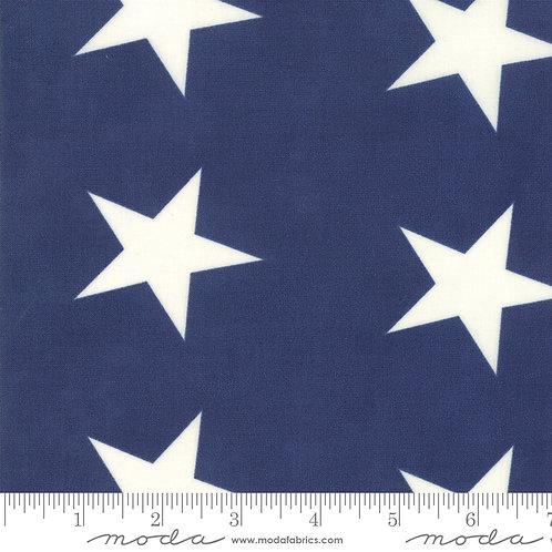Mackinac Island 14899 15 Blue Stars Moda Minick & Simpson