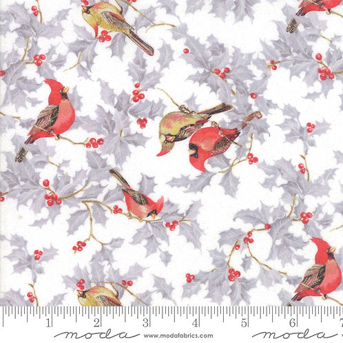 Forest Frost Glitter Favorites 33410 12M White Birds