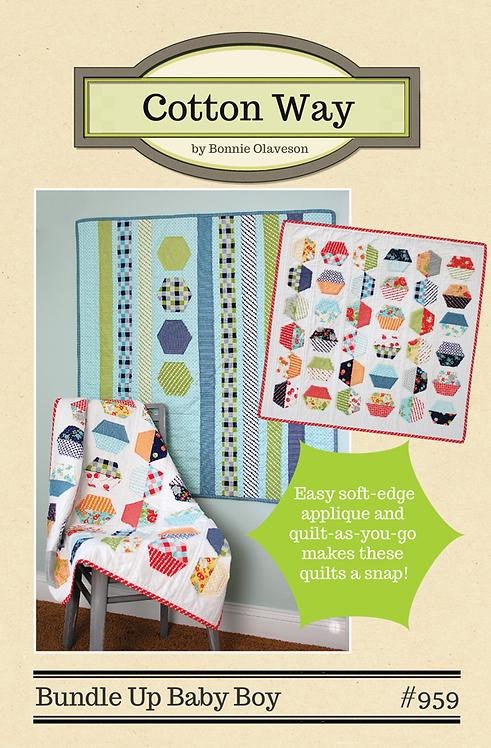 Cotton Way BUNDLUE UP BABY BOY Pattern