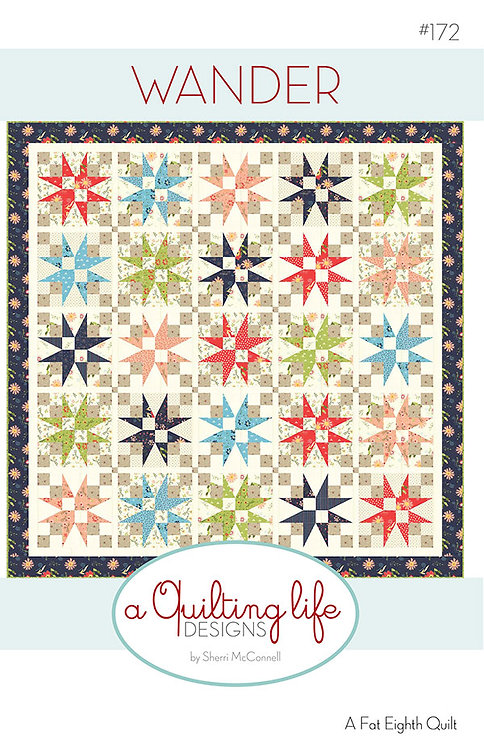 A Quilting Life WATERFRONT Fat Quarter Pattern