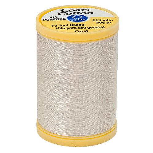 Coats & Clark Thread NATURAL IVORY 3 spools 30wt