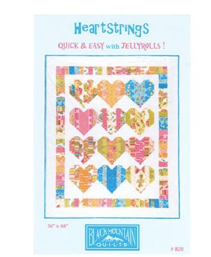 Black Mountain HEARTSTRINGS Jelly Roll Pattern