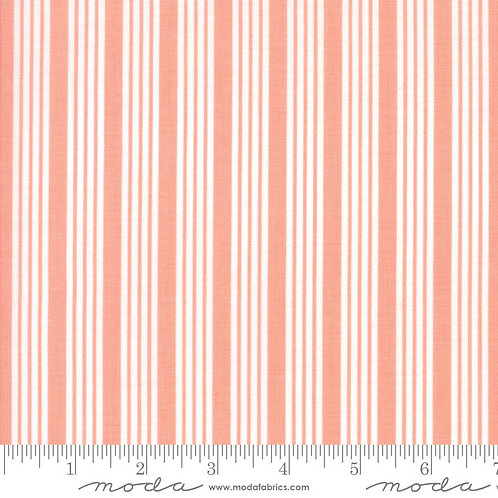 The Good Life 55157 13 Coral Pink Stripe Moda Bonnie & Camille