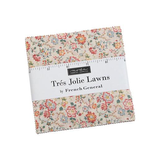 Tres Jolie Moda LAWNS Charm Pack