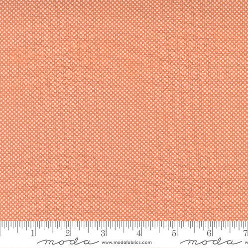 Cozy Up 29126 12 Orange Polka Dot Moda Corey Yoder