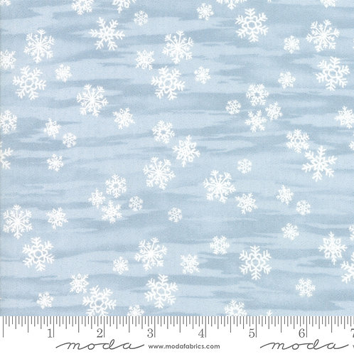 Forest Frost Glitter Favorites 33412 14M Blue Snowflakes
