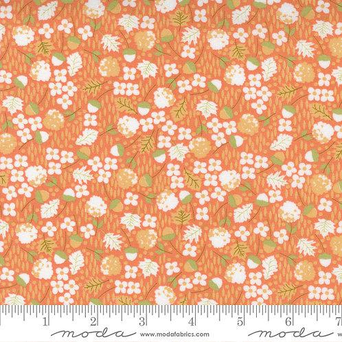 Cozy Up 29122 12 Orange Floral Moda Corey Yoder