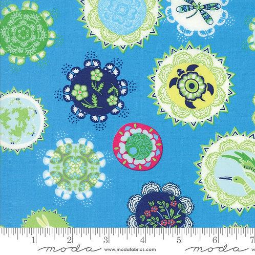Manderley 47500 16 Blue Floral