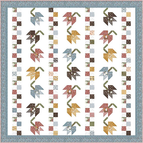 Fall Breeze FOLKTALE Charm Quilt Pattern