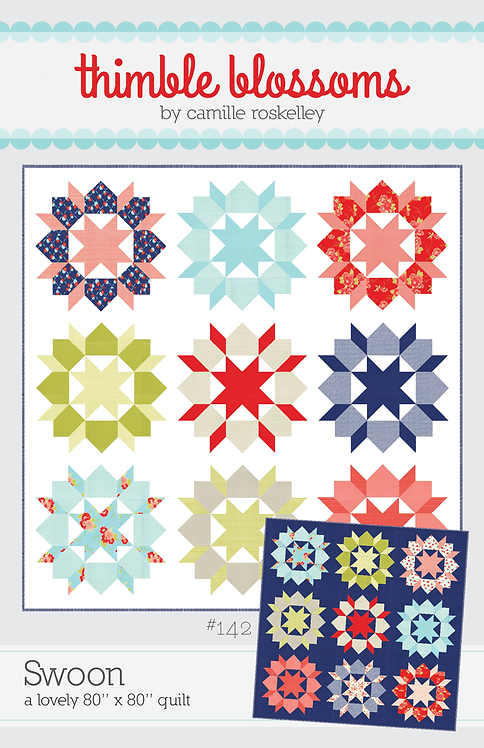 Thimble Blossoms SWOON Fat Quarter Quilt Pattern