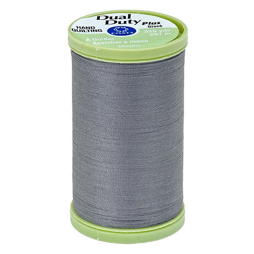 Coats & Clark HAND QUILTING THREAD Slate Gray 1 spool 25wt