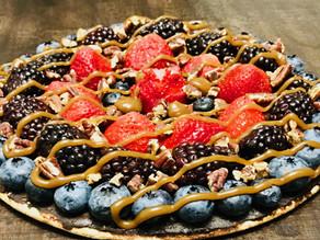 A winning dessert pizza!