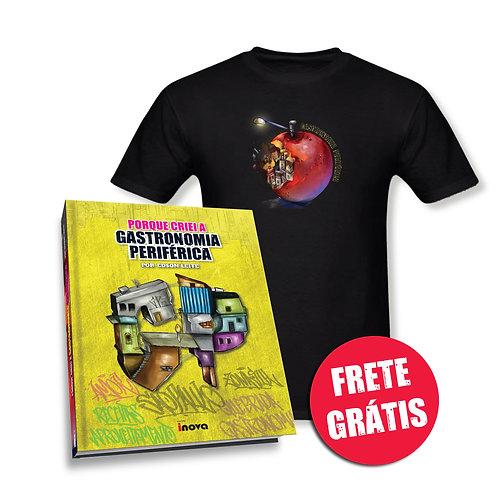 Livro Porque criei a Gastronomia Periférica + Camiseta