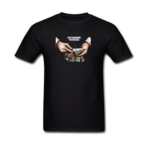 Camiseta Gastronomia Periférica -Mãos