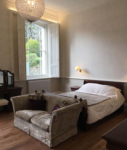 Housekeeper's suite, luxury holiday apartment, beautiful bedroom