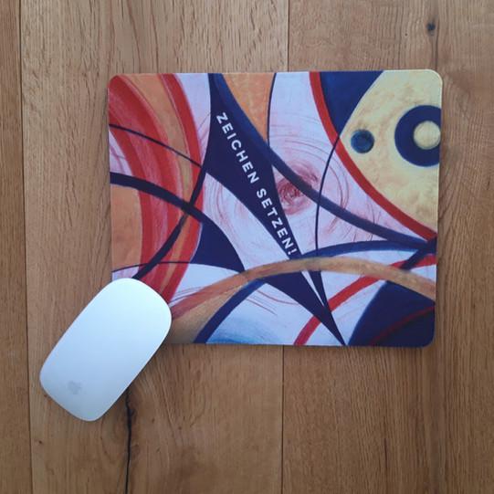 Mousepad Zeichen setzen!