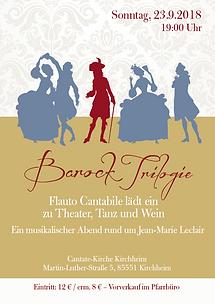 "Plakat ""Barock Trilogie"""