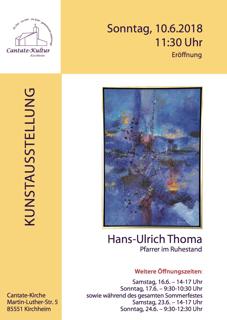 Ausstellung Pfarrer Thoma in der Cantate