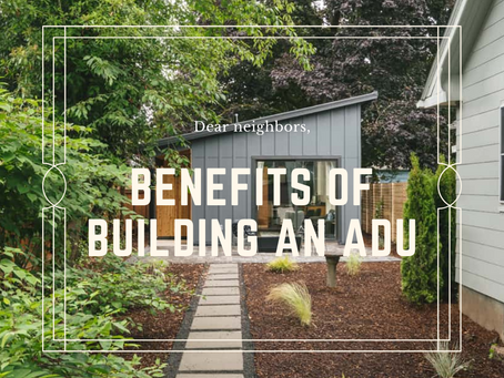 What are the Benefits of Building an ADU?