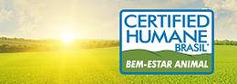 Botão certificação Certified Humane