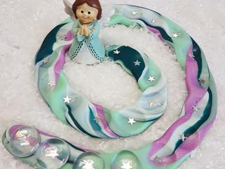 Adventkalender - Spirale mit Kids basteln