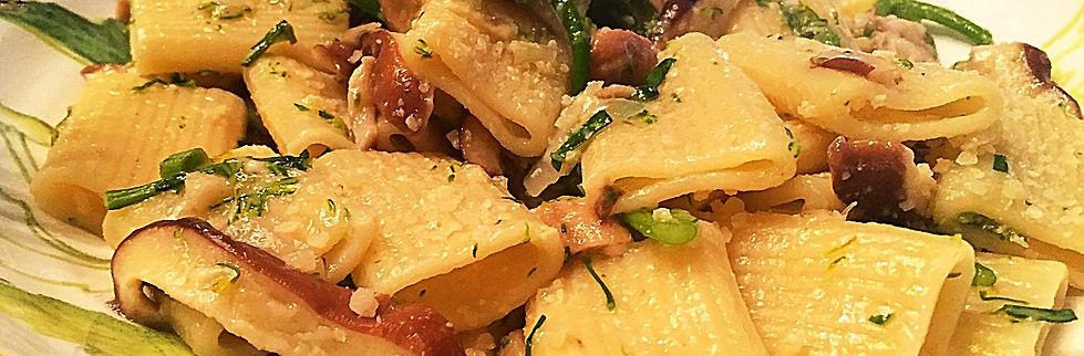 brocolli shiitake pasta