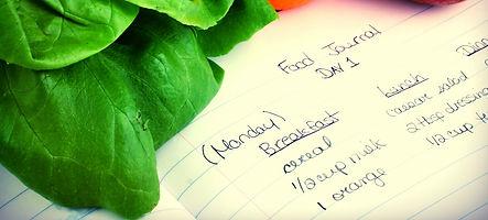 IBS food diary