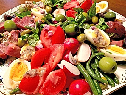 Summer bounty salad