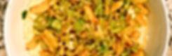 leek and delicata polenta