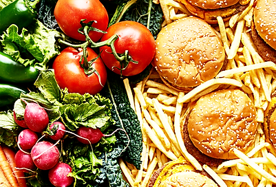 Healthy food for GERD relief.