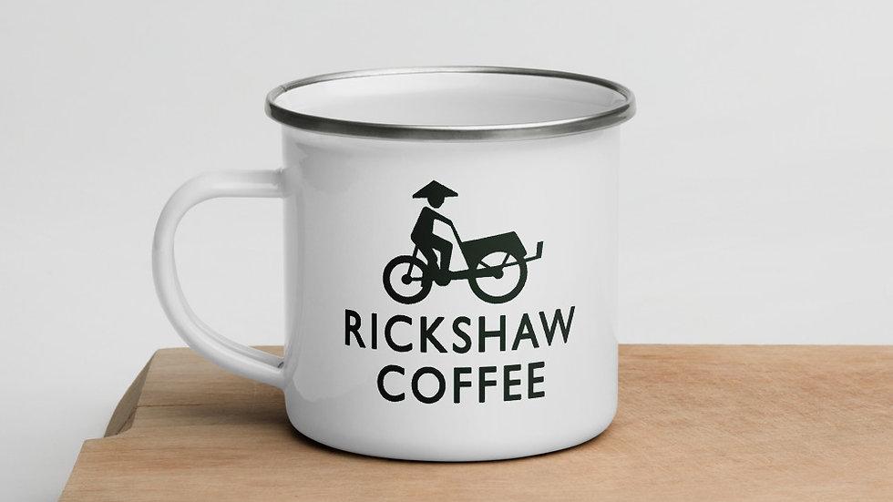 Rickshaw Coffee (Enamel Mug)