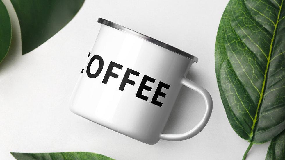 NOTJUSTCOFFEE (Enamel Mug)